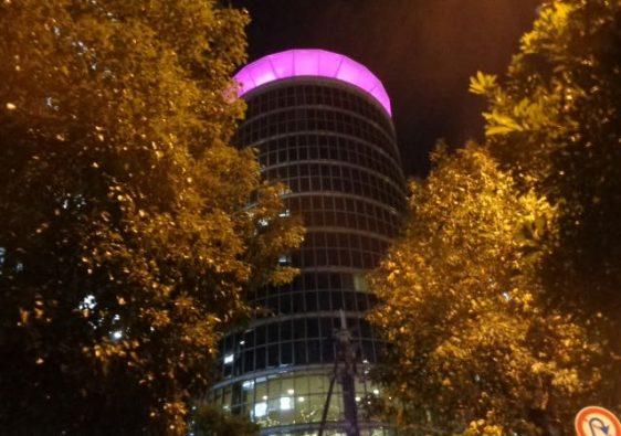 Dawn Center Purple Ribbon Campaign