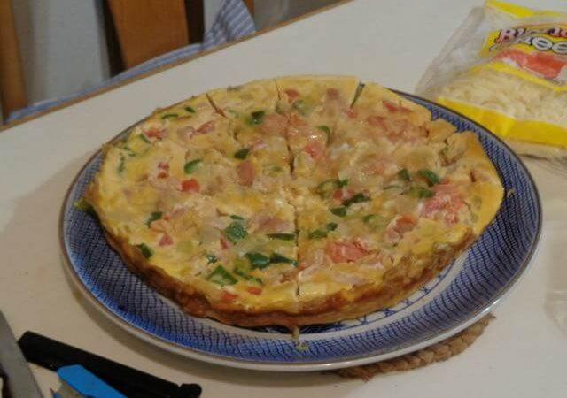 JAFAREC Workshop Men's Cooking Spanish omelet