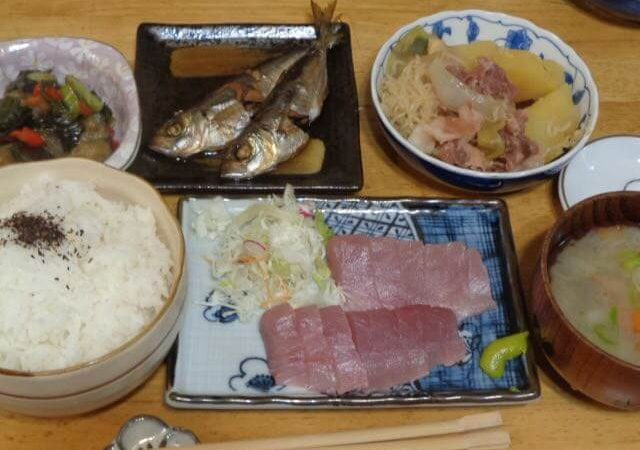 JAFAREC Shelter set meal hamachi