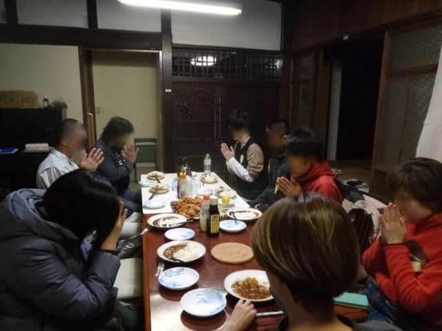 JAFAREC Ten-Sho-An 30-hour Workshop dinner curry