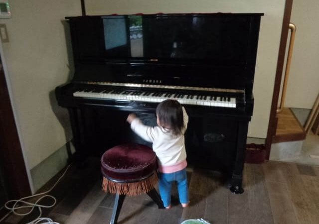 JAFAREC Ten-Sho-An piano minapi with baby