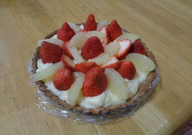 JAFAREC Women's Workshop Strawberry custard tart
