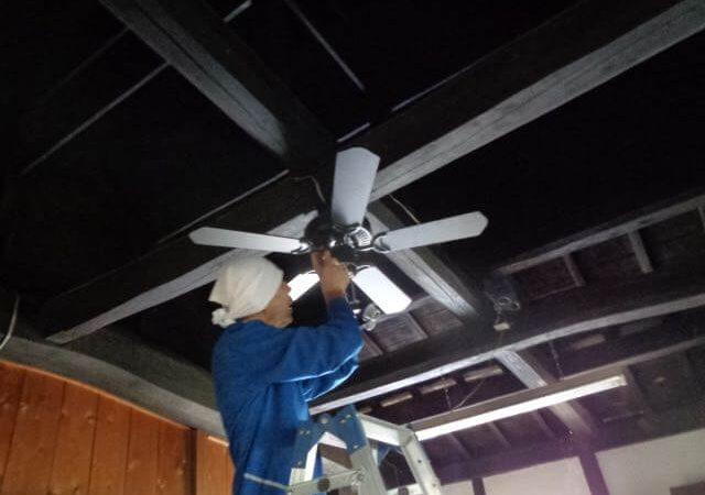 JAFAREC Ten-Sho-An ceiling work
