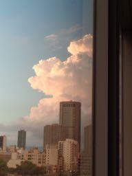 JAFAREC sunset from Dawn Center Osaka
