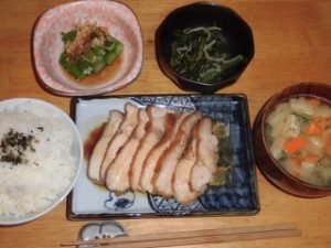 JAFAREC Shelter set meal with rice