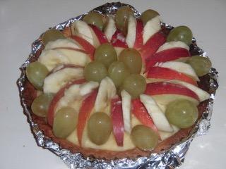 JAFAREC fruit custard tart