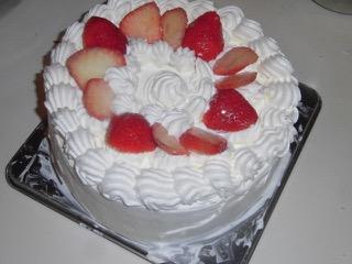 JAFAREC strawberry cake for Gourmet Night