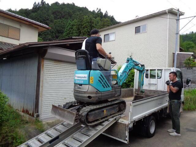 Ten-Sho-An excavator